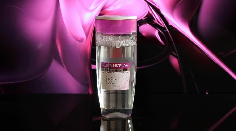Água Micelar da L'Oréal - Foto por Bruno França