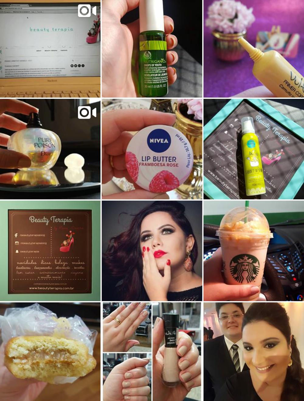 Algumas imagens do feed do nosso Instagram.