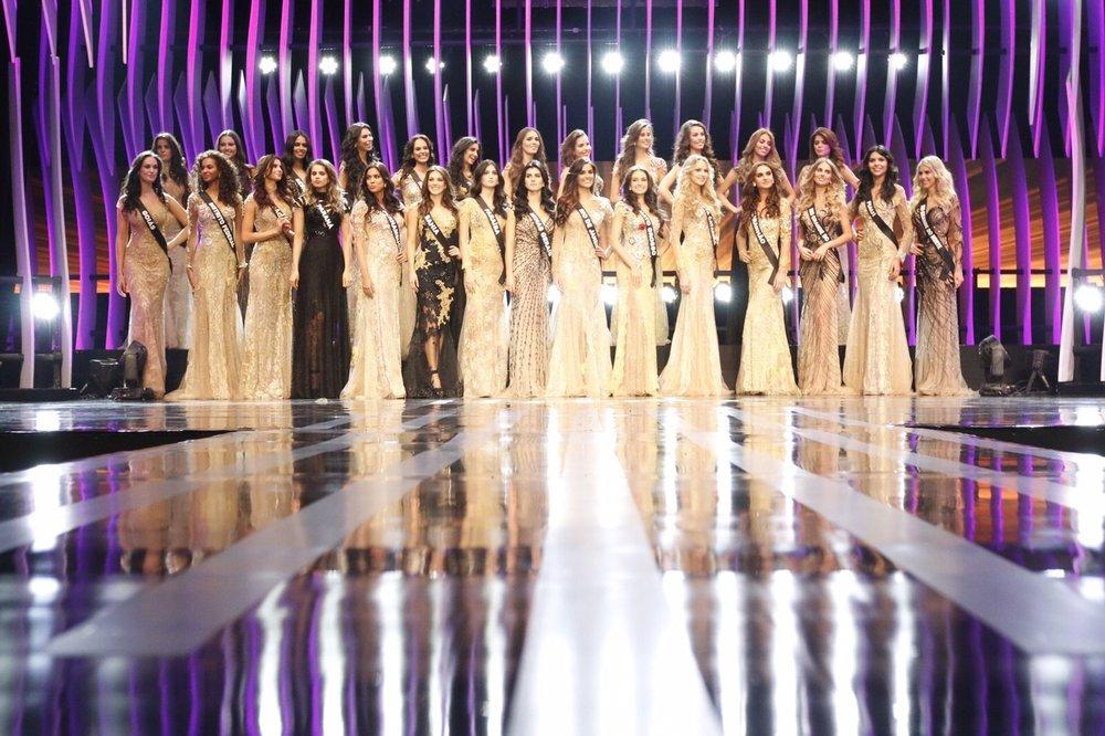 Missa Brasil 2015 desfile de gala