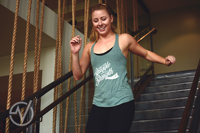 Virago Fitness Struggle into Strength Tank - $22 / Buy Here