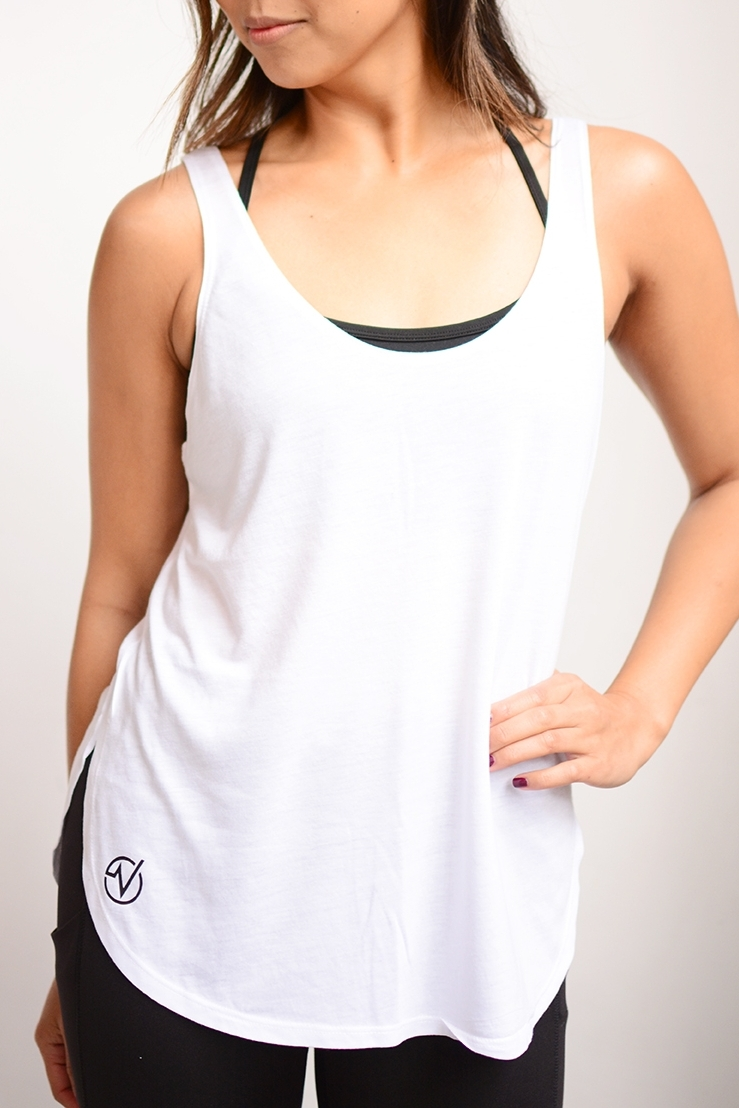 Women's Basic Side Slit Tank - SKU: W8802MIN QTY 15 / Any Color - Any Size$13.20-$15.40COLORS: Black, WhiteSizes: S, M, L, XL, 2XL