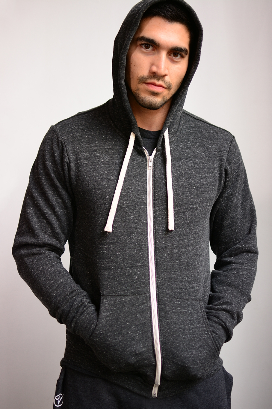 Unisex Printed Zip Up Hoodie - SKU: U3909MIN QTY 15 / Any Color - Any Size$33.00-$38.50COLORS: CharcoalSizes: XS, S, M, L, XL, 2XL