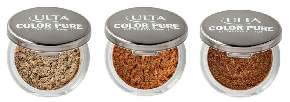 ULTA Color Pure Eyeshadow Pigment  in Henna • Mesa • Riviera