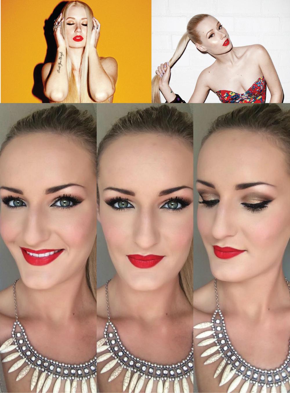 Iggy Inspired Makeup
