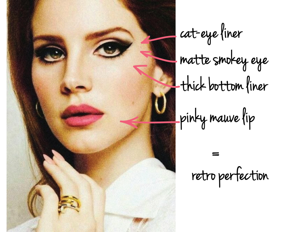 Lana Del Rey Makeup Breakdown