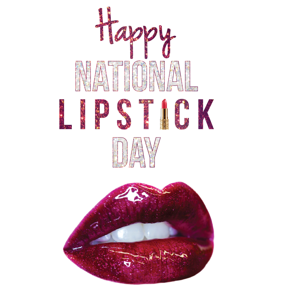 Happy National Lipstick Day from Pretty Much Blog!