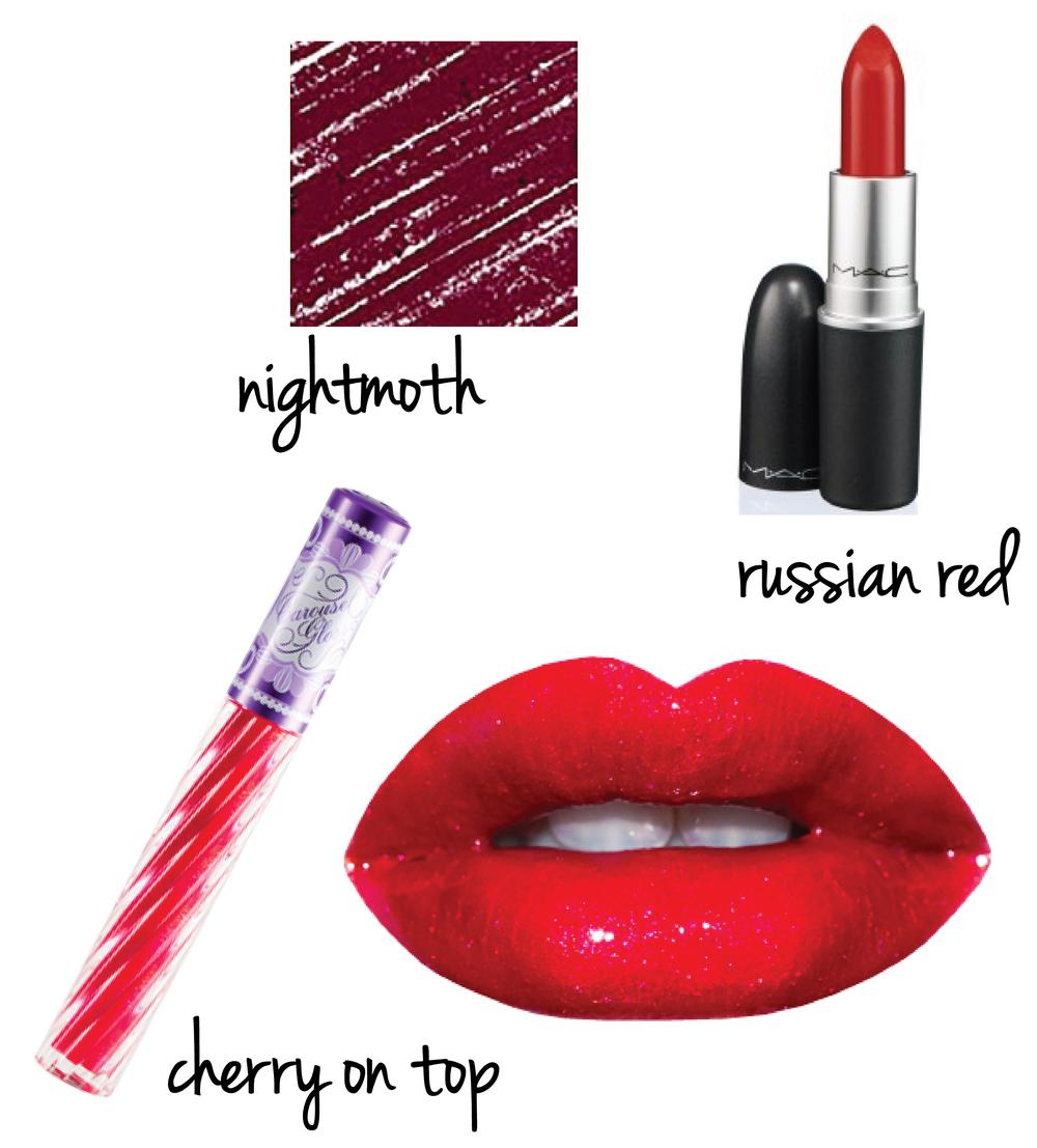Glossy Red Fall Lip Formula