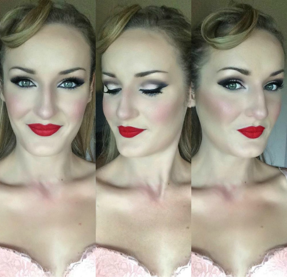 Pinup Makeup