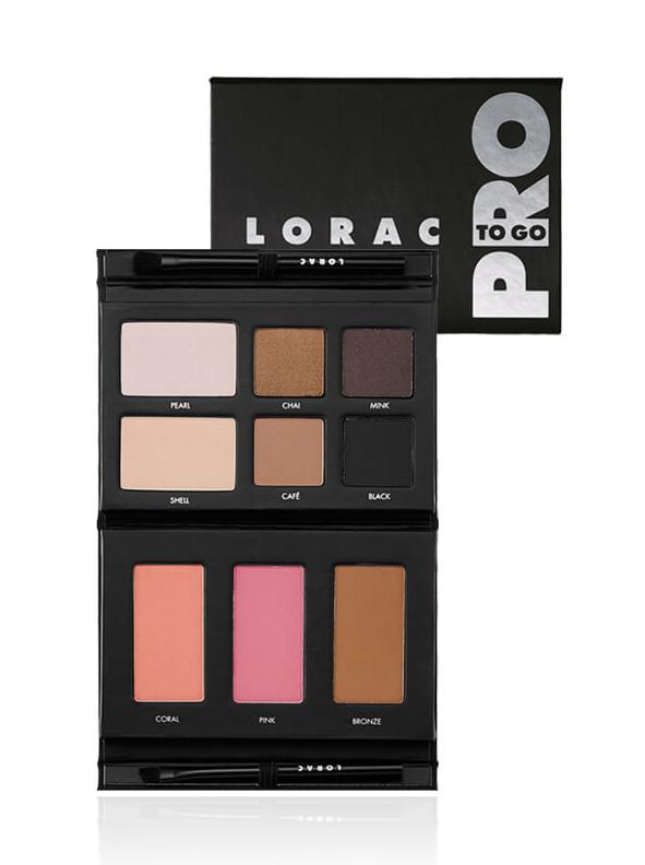 LORAC Pro To-Go Cheek & Eye Palette - $38