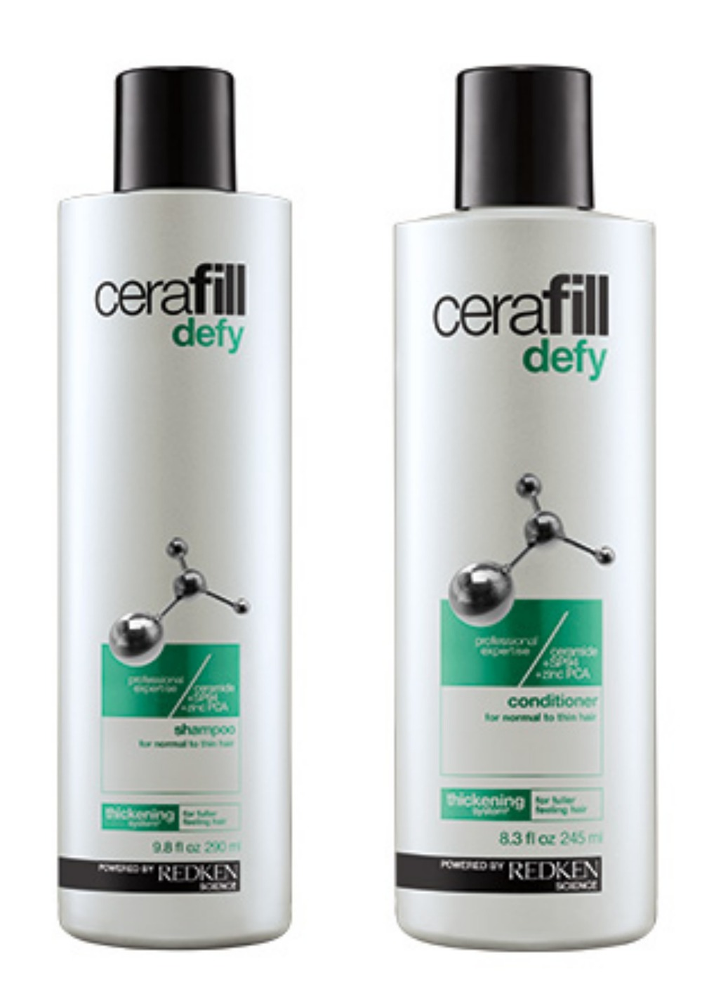 Redken Cerafill Defy Shampoon + Conditioner for Fine Hair