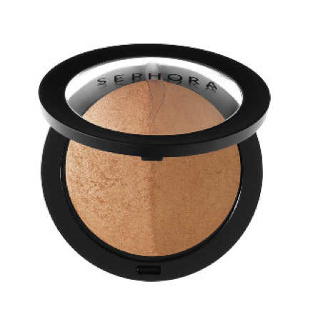 MicroSmooth Baked Bronzer Duo by Sephora Brand