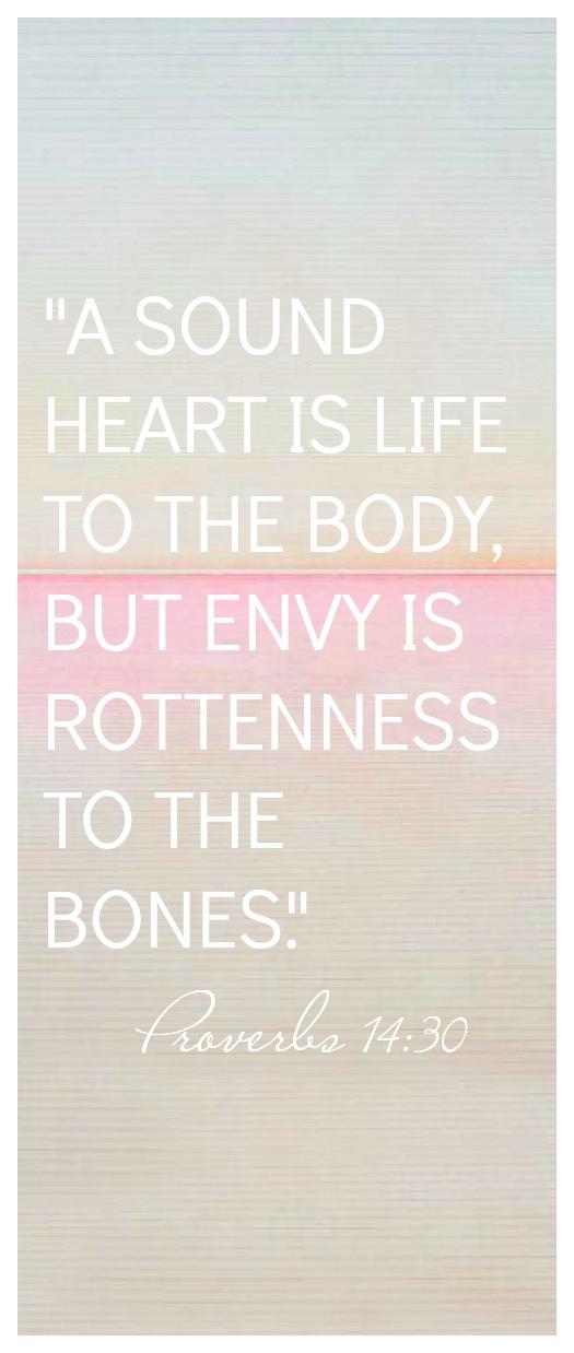 Proverbs 14:30