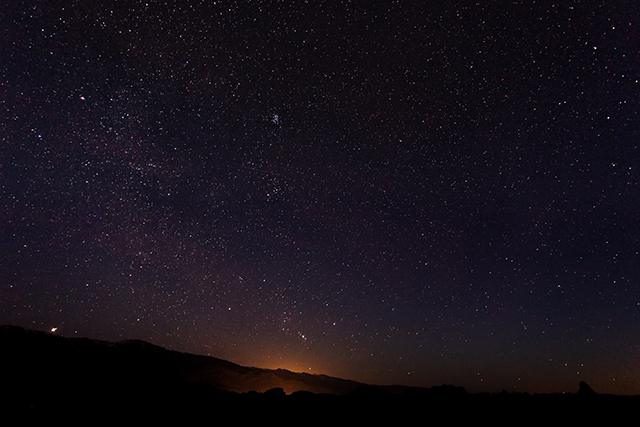 Taken with the 6D and the 17-40 f/4 L at f/4. 30 seconds.