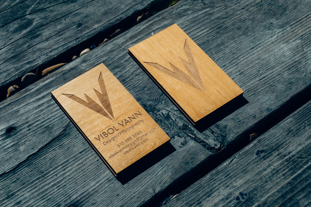 Vibol Vann Business Cards — Vibol Vann Design