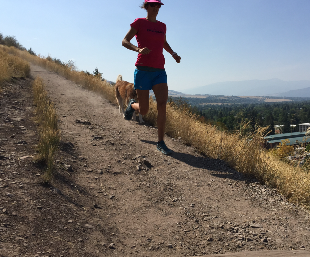 Trail Running Strength: Downhill and Technique $40   This plan will help you tackle downhill trails with ease. A combination of core and hip strength, as well as a running specific progression will give you confidence to bomb down those hills.