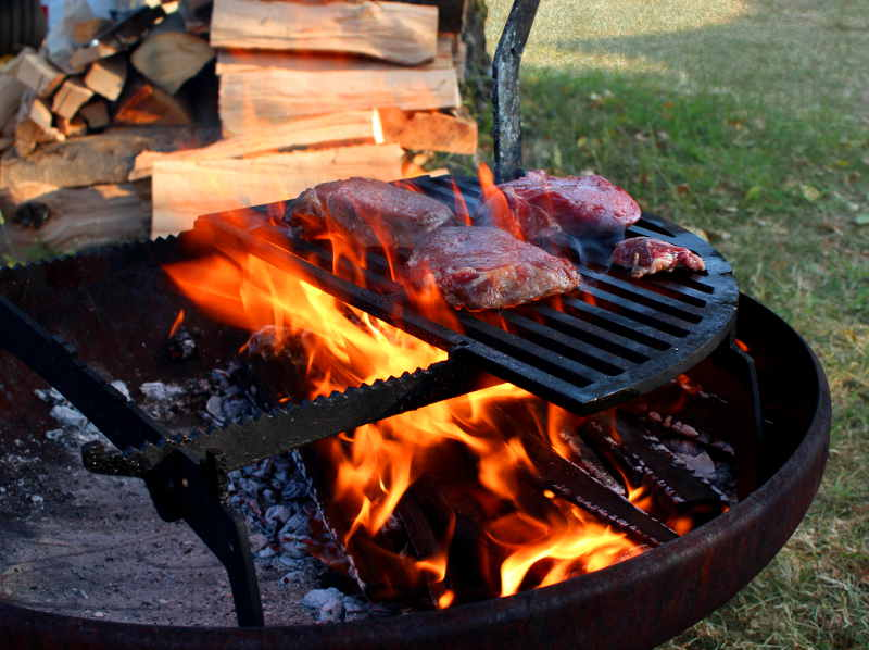 YAGOONA-Barramundi-holz-feuer-grill-barbecue-in-action-with-steak.jpg