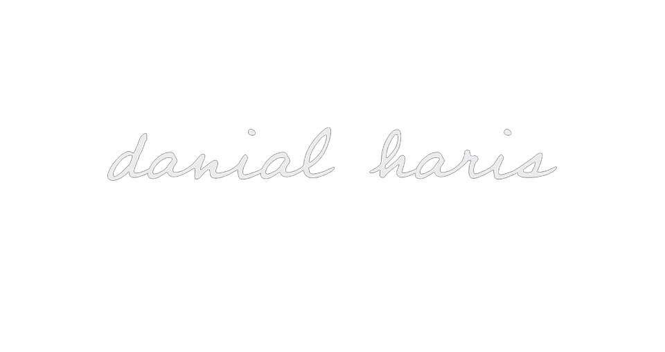 Danial Haris - Freelance Producer , Director , Editor - Media Professional