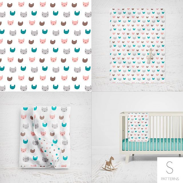 Patterns available through www.de2b.com #surfacedesign #surfacepatterndesign #textiledesign #textile #pattern #sarapatterns #licensing #hometextiles #wallpaper #designtextil  #fabric #quilt #quiltmarket #quilting #textil #printdesign #designertextil #kidsdesign #baby