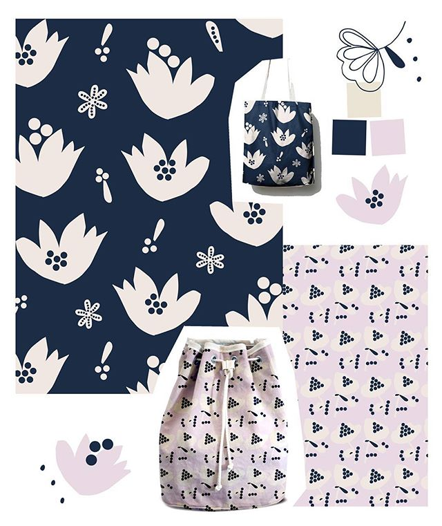 New patterns!! Looking for some feedback - 👍or 👎? . . #surfacedesign #surfacepatterndesign #textiledesign #textile #pattern #sarapatterns #licensing #hometextiles #wallpaper #designtextil  #fabric #quilt #quiltmarket #quilting #textil #printdesign #designertextil #kidsdesign #inspiration