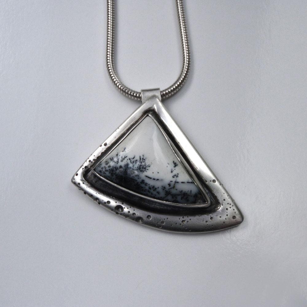 Silver Snowscape Pendant
