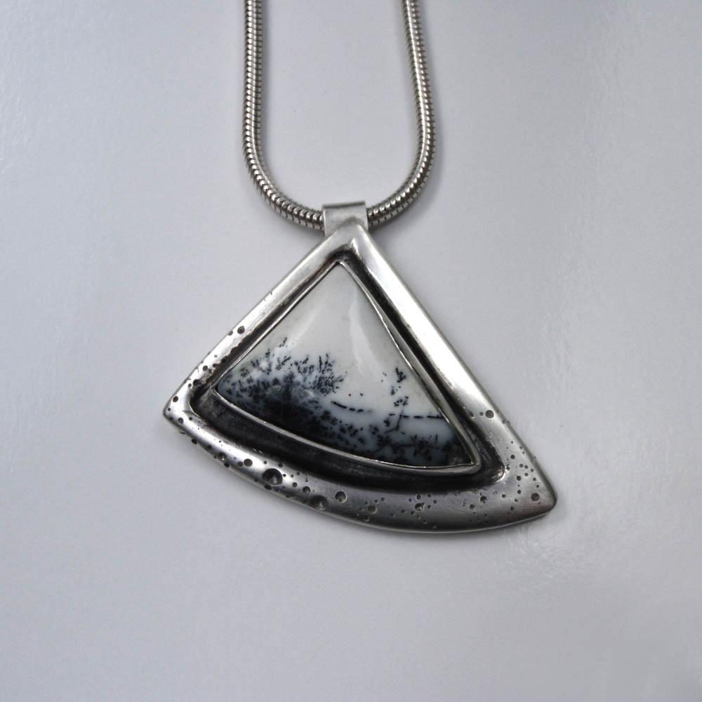 Snowscape Pendant by Abi Cochran