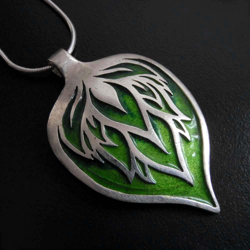 Big Green Leaf by Abi Cochran