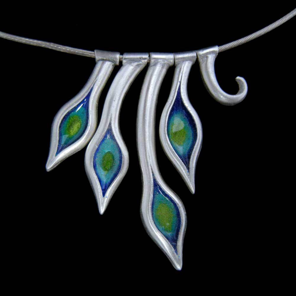 Stems Necklace by Abi Cochran