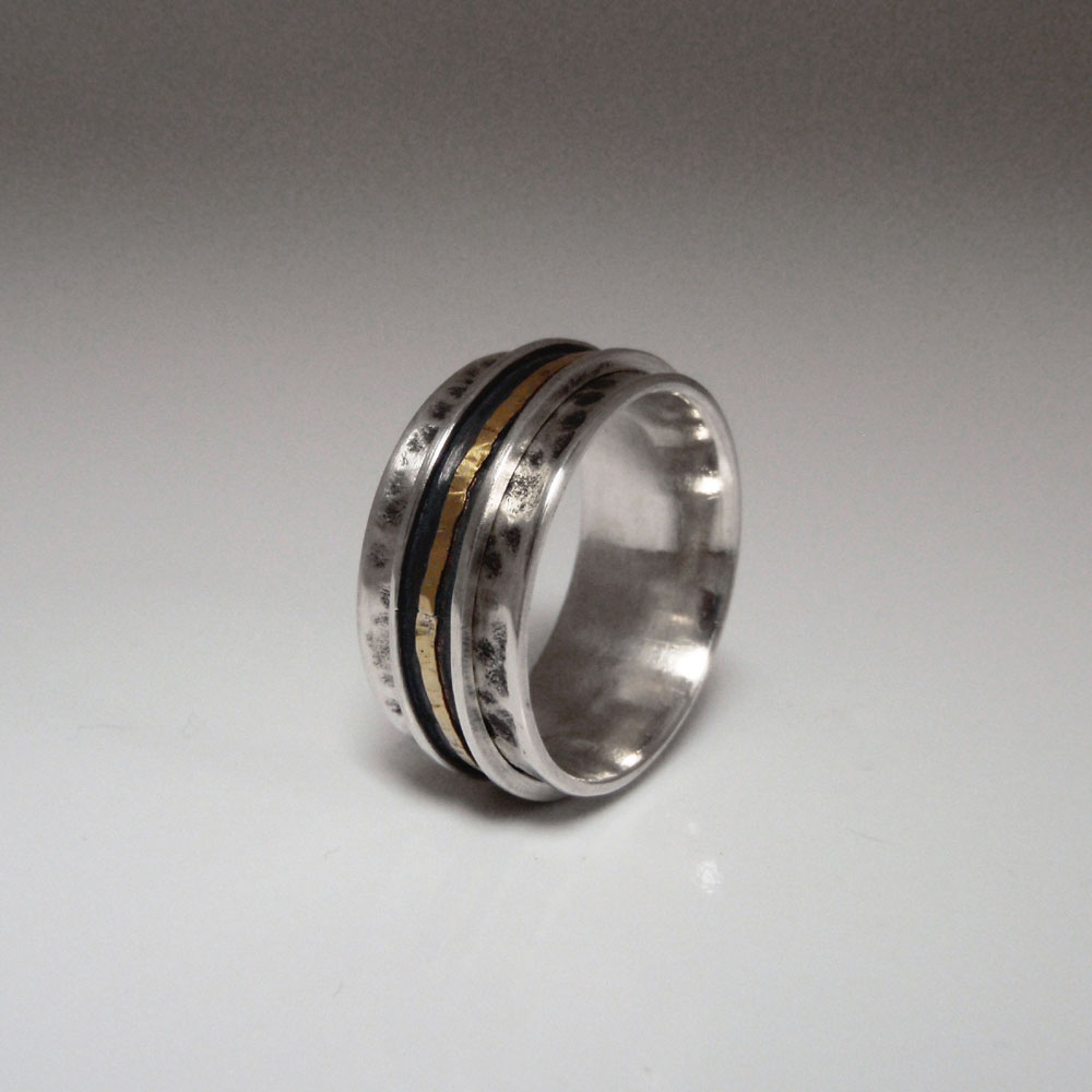 Spinner Ring by Abi Cochran