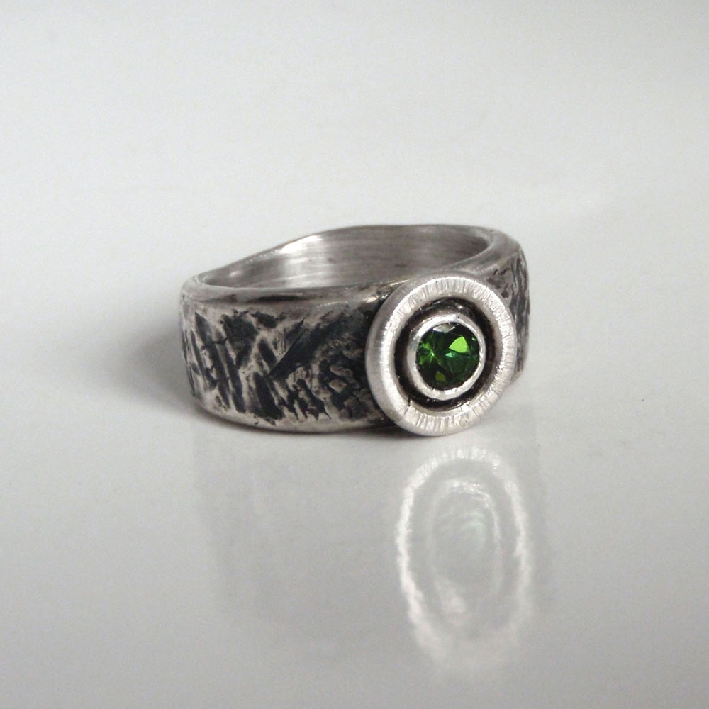 Tourmailine Ring by Abi Cochran