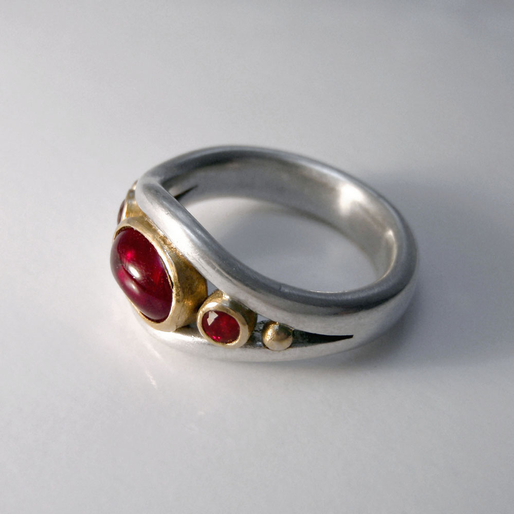 Ruby Engagement Ring by Abi Cochran