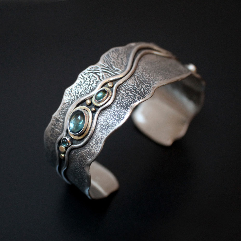 River Cuff by Abi Cochran