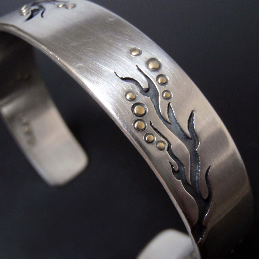 Root and Branch Cuff by Abi Cochran