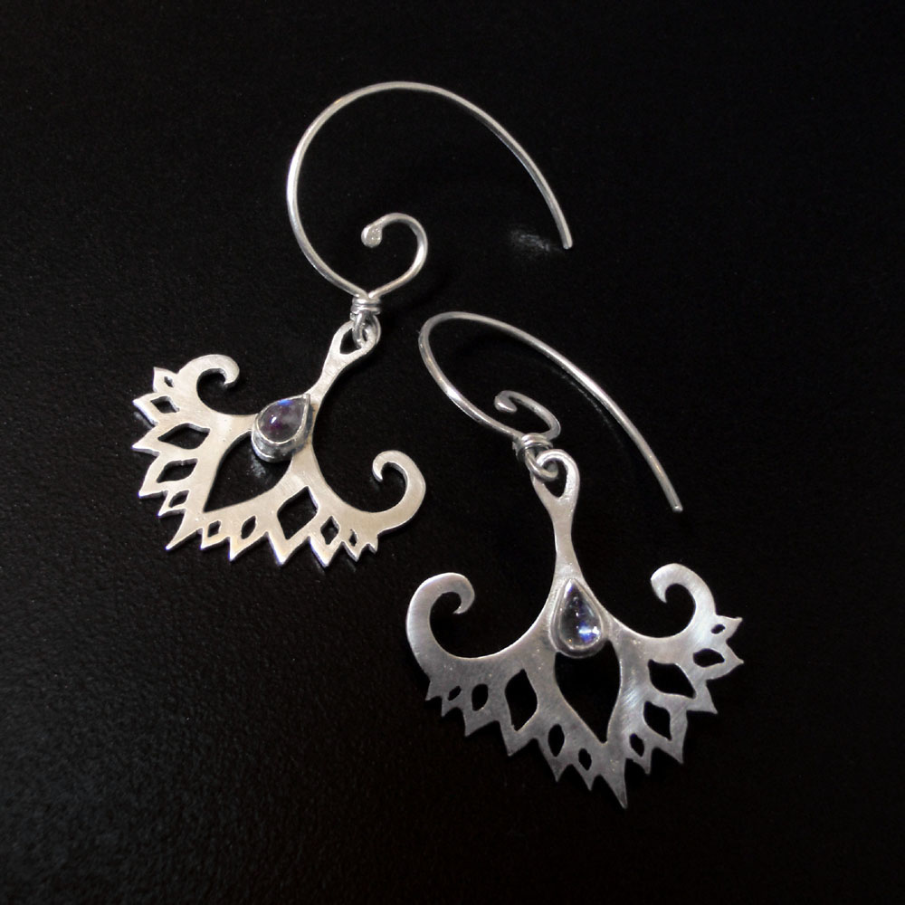 Earrings by Abi Cochran