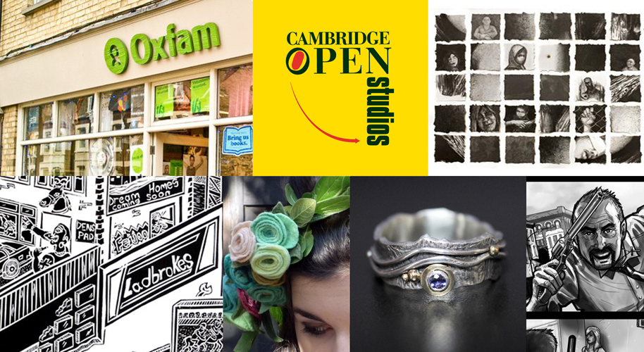 Oxfam Blog Cambridge Open Studios 2014; Top Picks