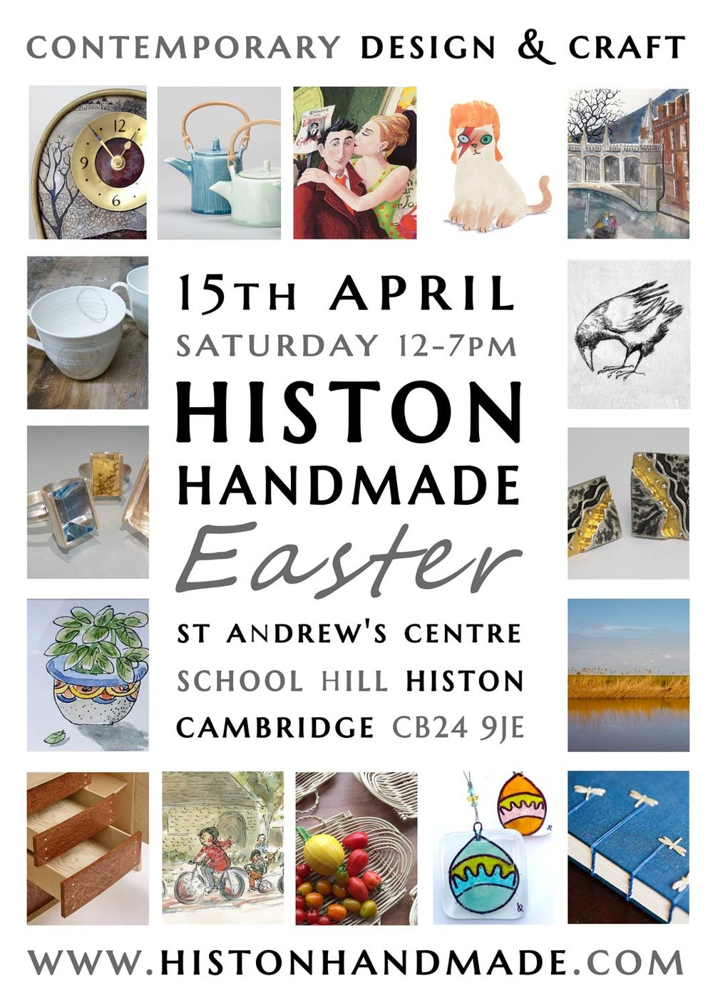 Histon Handmade April 2017