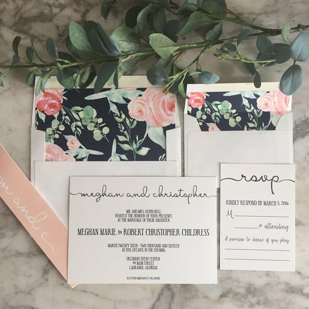 Wedding Stationery Design — Mulberry Creative Co.