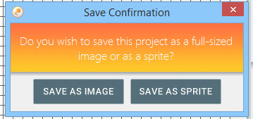 Save Confirmation when working on the Large Grid