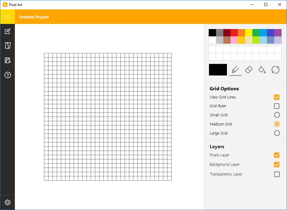 Pixel Art 11.2 - Main UI