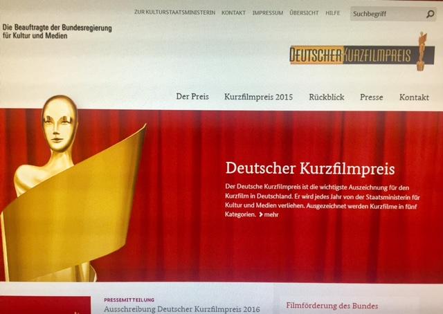 Copyright: www.deutscher-kurzfilmpreis.de