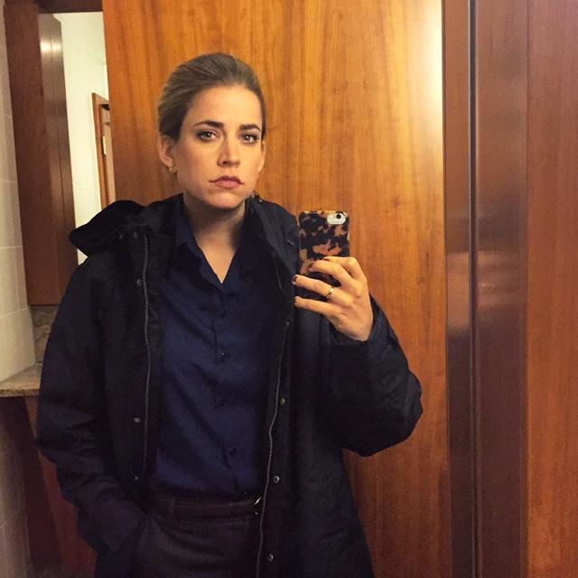 Merle als Wellnesshotelbesitzerin Andrea Becker.