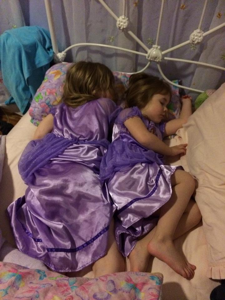 Princess Sofia deluxe nightgowns, good for napping and dress up!