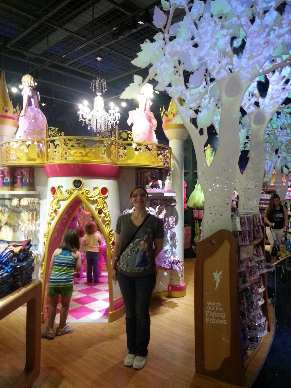 The Disney Store at Mall of America is fancy!