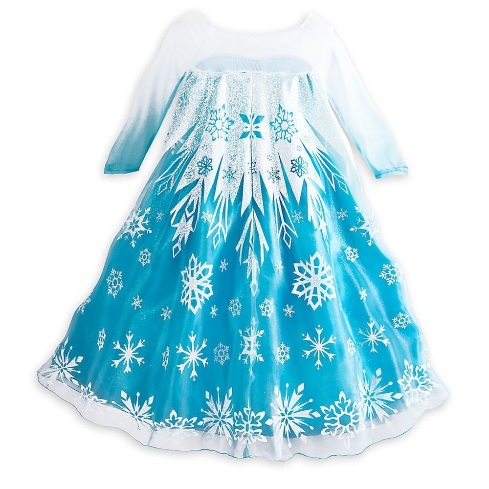Frozen Costumes Review - (PART 1) - Elsa's Blue Gown — Princess Rants