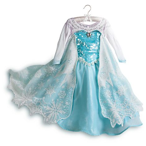 As I just mentioned above this is not one of my favorite Limited Edition costumes. However it is Violau0027s #1 favorite costume and so we wonu0027t be getting ...  sc 1 st  Princess Rants & Frozen Costumes Review - (PART 1) - Elsau0027s Blue Gown u2014 Princess Rants