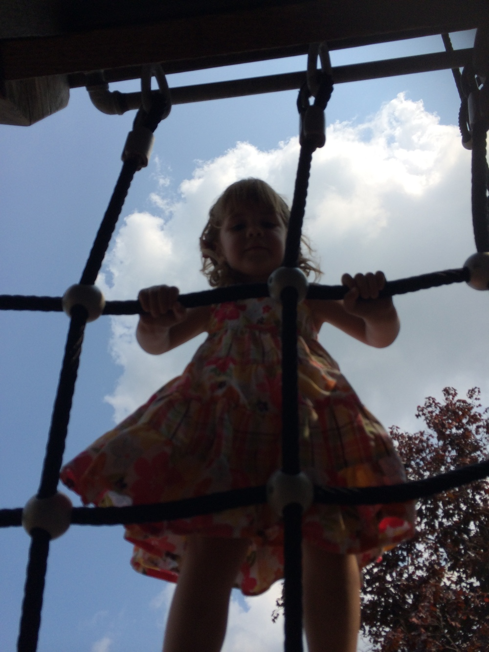 This weekend at Greenfield Village's new playground.