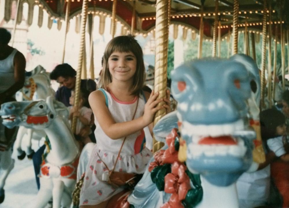 Circa mid-1980's, when it was still Cinderella's Golden Carousel!