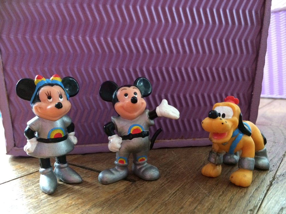 .... and space Mickey, of course!
