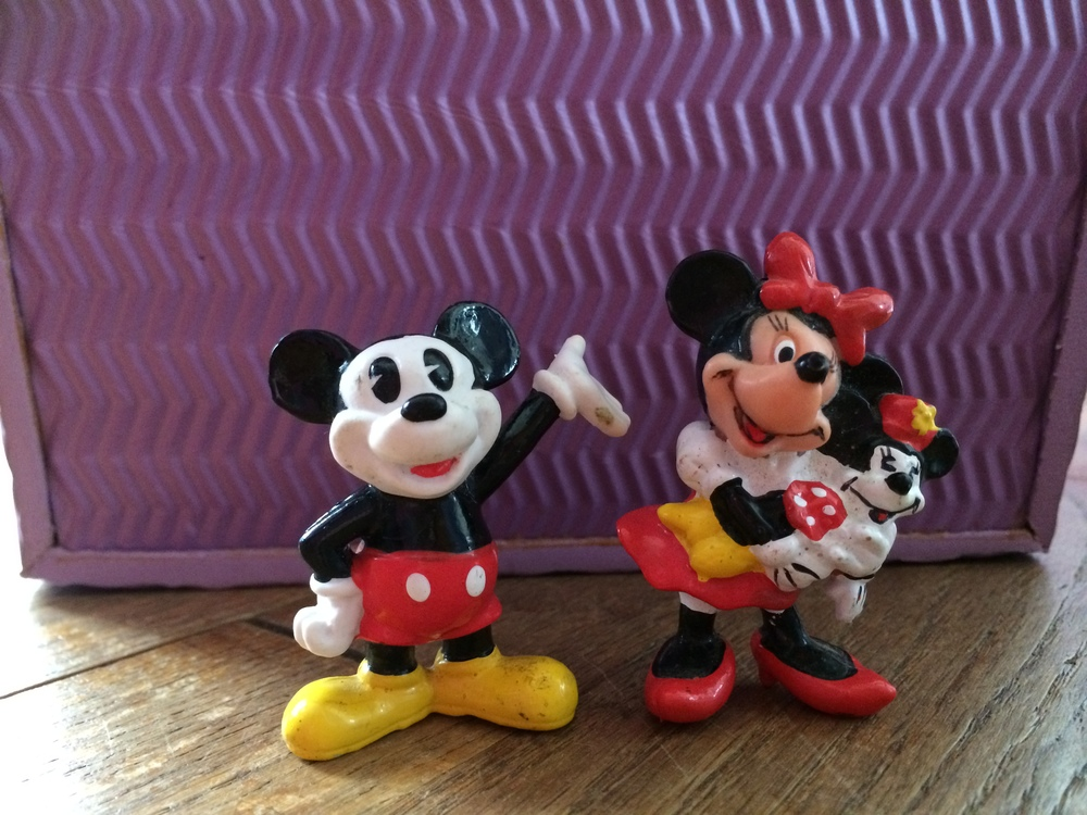 Minnie with her mini-Minnie doll was always one of my favs!