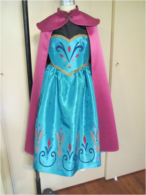 Diy homemade elsas coronation dress options princess rants andrea shewe is a professional pattern maker and offers an online printable pattern for making an elsa coronation dress here solutioingenieria Choice Image