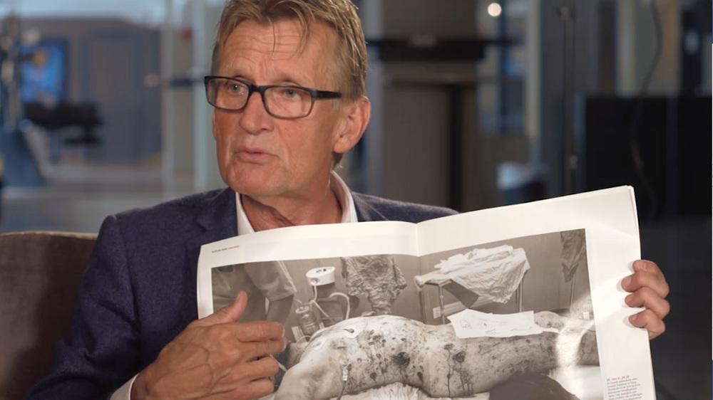 Truls Lie, Mads Gilbert on Gaza (2014)